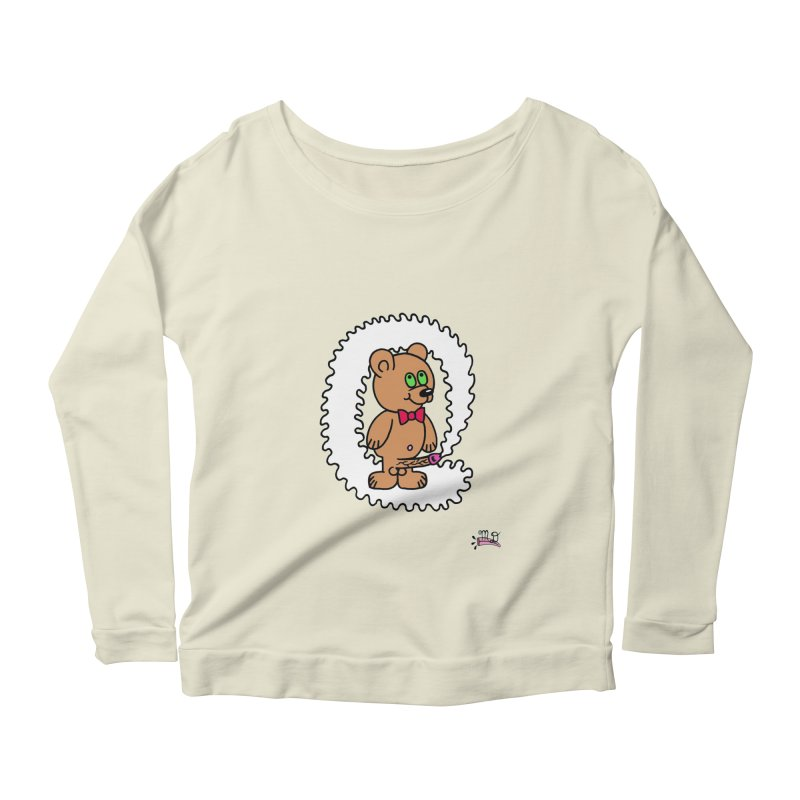 Cummie Bear Women's  by Mike Diana T-Shirts! Horrible Ugly Heads Limited E
