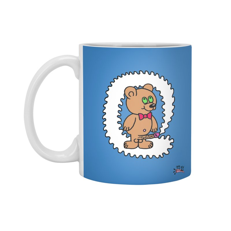 Cummie Bear Accessories Mug by Mike Diana T-Shirts! Horrible Ugly Heads Limited E