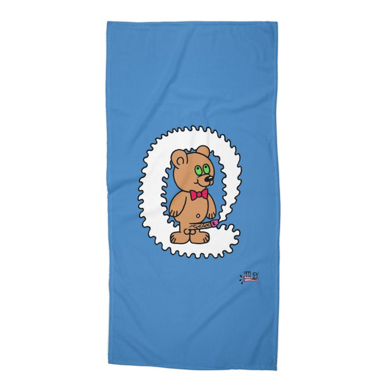 Cummie Bear Accessories Beach Towel by Mike Diana T-Shirts Mugs and More!