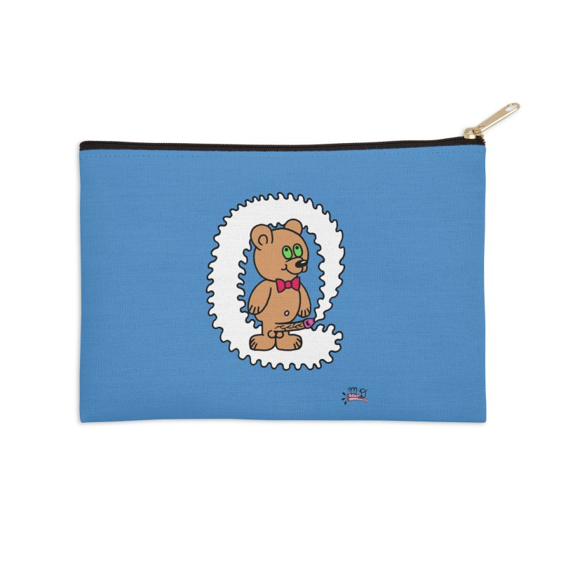 Cummie Bear Accessories Zip Pouch by Mike Diana T-Shirts! Horrible Ugly Heads Limited E