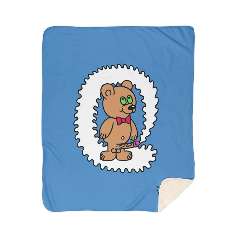 Cummie Bear Home Sherpa Blanket Blanket by Mike Diana T-Shirts Mugs and More!