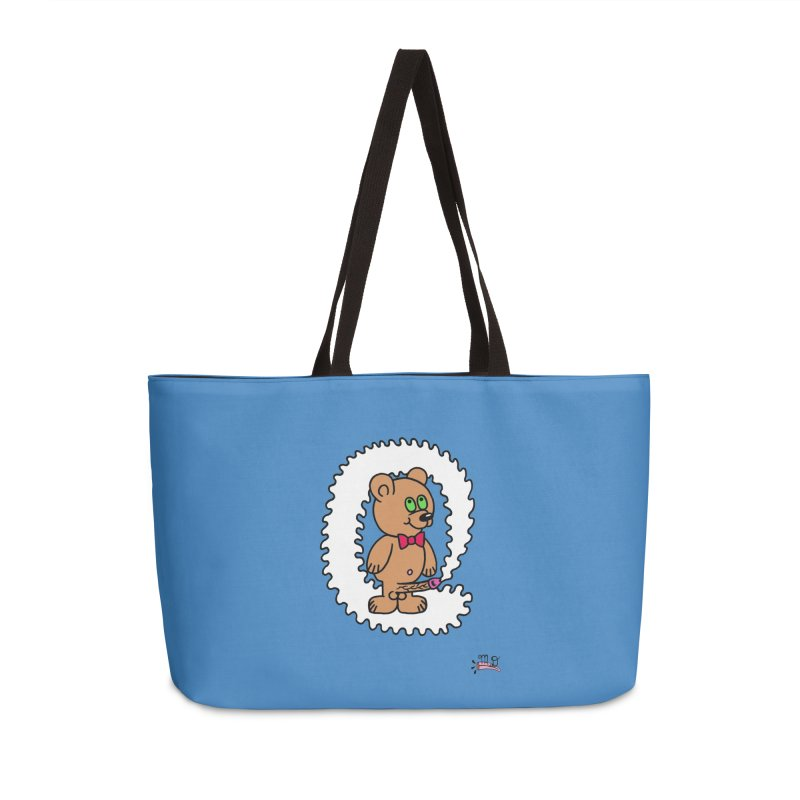 Cummie Bear Accessories Weekender Bag Bag by Mike Diana T-Shirts Mugs and More!