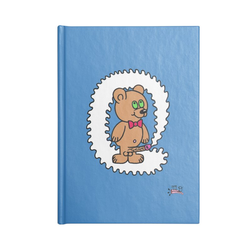 Cummie Bear Accessories Lined Journal Notebook by Mike Diana T-Shirts Mugs and More!