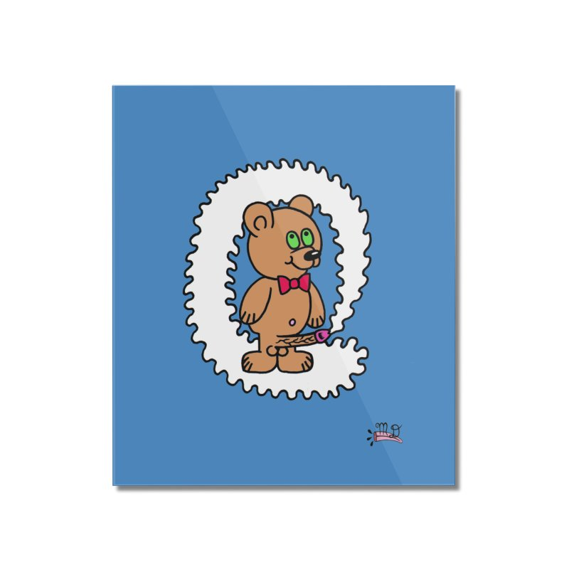 Cummie Bear Home Mounted Acrylic Print by Mike Diana T-Shirts Mugs and More!