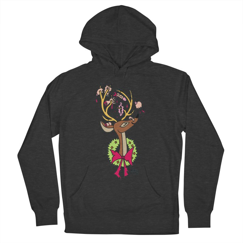 Mike Diana Christmas Trophy Men's French Terry Pullover Hoody by Mike Diana T-Shirts Mugs and More!