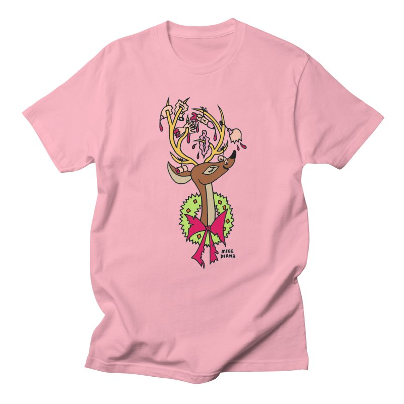 Mike Diana Christmas Trophy Men's  by Mike Diana T-Shirts! Horrible Ugly Heads Limited E