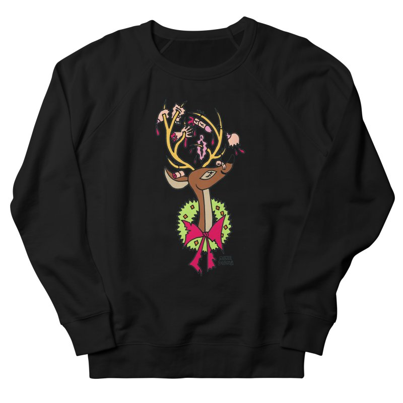 Mike Diana Christmas Trophy Men's Sweatshirt by Mike Diana T-Shirts! Horrible Ugly Heads Limited E