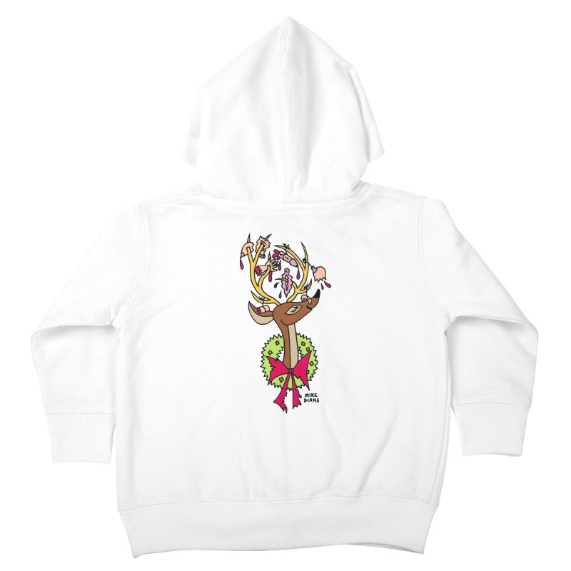 Mike Diana Christmas Trophy Kids Toddler Zip-Up Hoody by Mike Diana T-Shirts Mugs and More!
