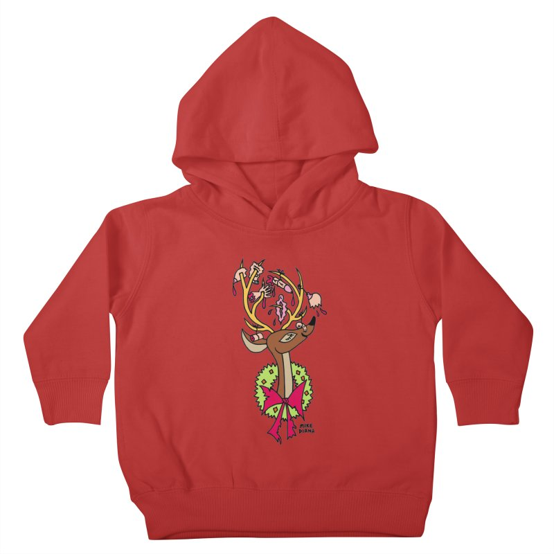 Mike Diana Christmas Trophy Kids Toddler Pullover Hoody by Mike Diana T-Shirts Mugs and More!