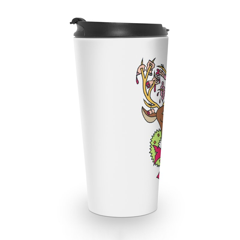 Mike Diana Christmas Trophy Accessories Travel Mug by Mike Diana T-Shirts Mugs and More!