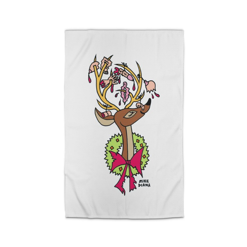 Mike Diana Christmas Trophy Home Rug by Mike Diana T-Shirts Mugs and More!