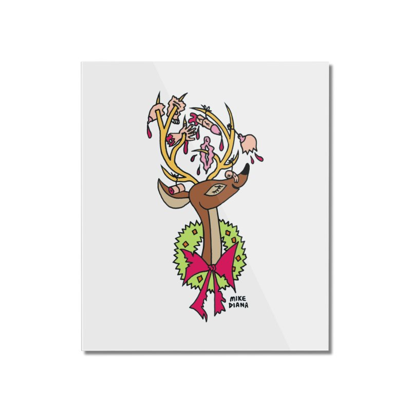 Mike Diana Christmas Trophy Home Mounted Acrylic Print by Mike Diana T-Shirts Mugs and More!