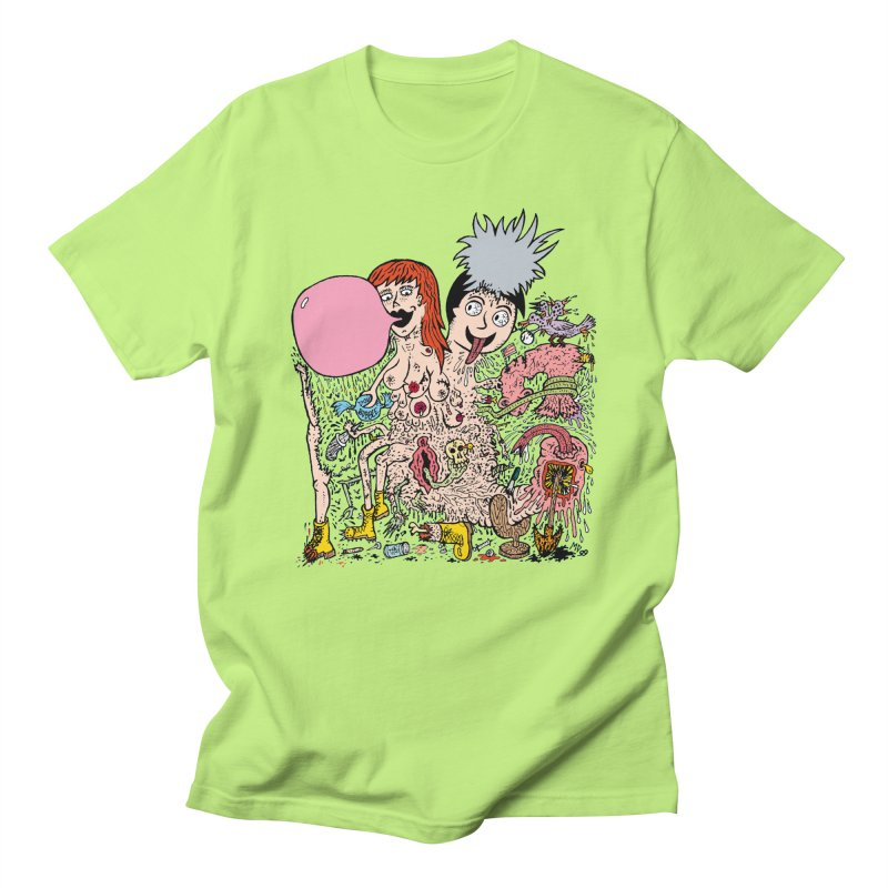 PopTones   by Mike Diana T-Shirts! Horrible Ugly Heads Limited E