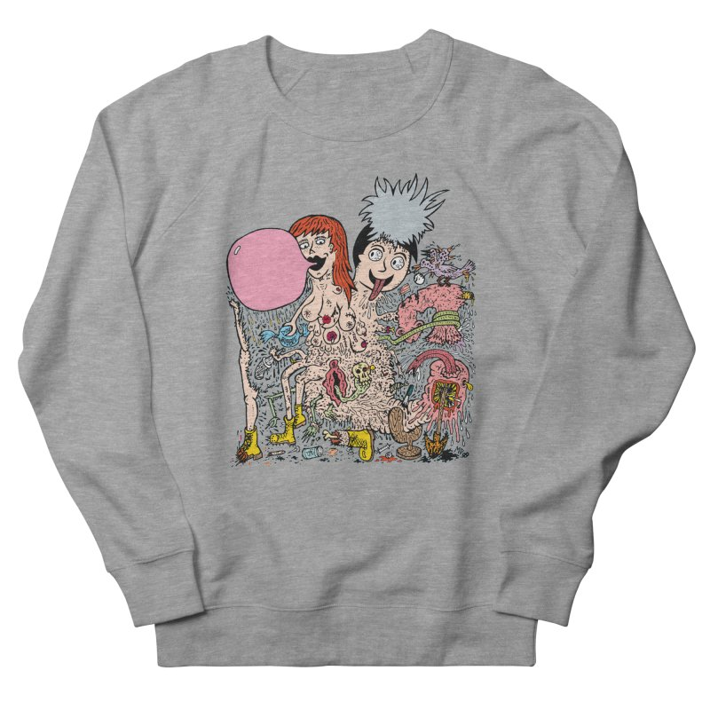 PopTones Men's Sweatshirt by Mike Diana T-Shirts! Horrible Ugly Heads Limited E