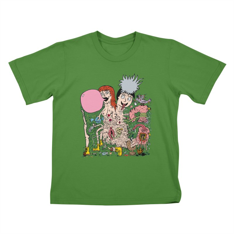 PopTones Kids T-shirt by Mike Diana T-Shirts! Horrible Ugly Heads Limited E