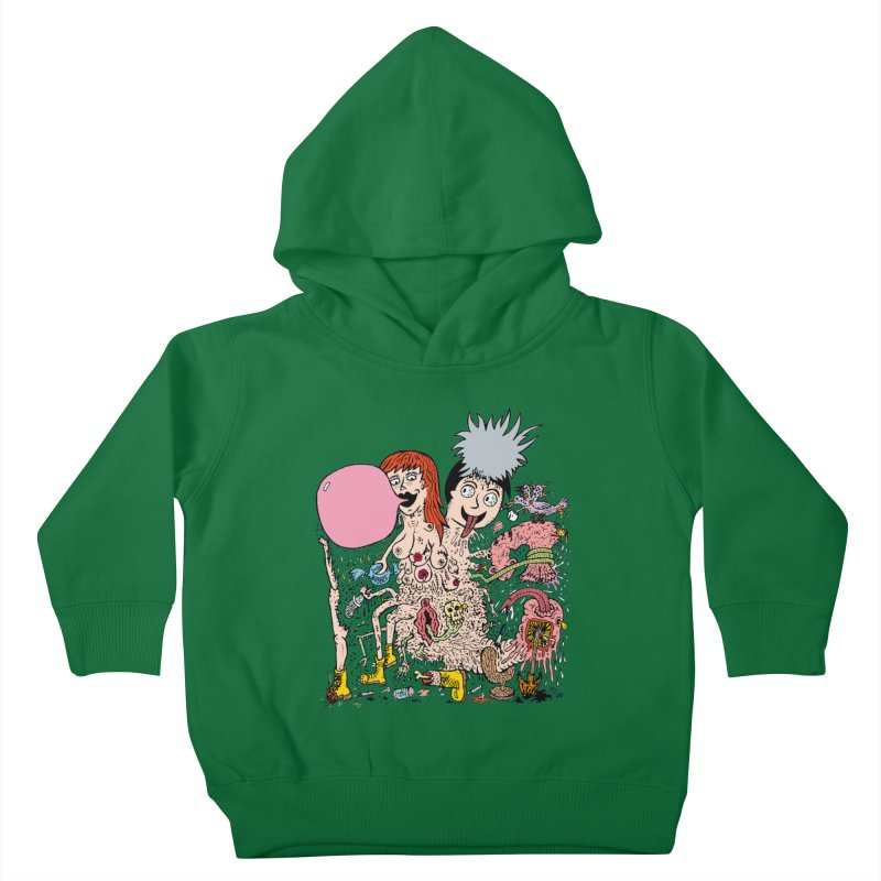 PopTones Kids Toddler Pullover Hoody by Mike Diana T-Shirts! Horrible Ugly Heads Limited E
