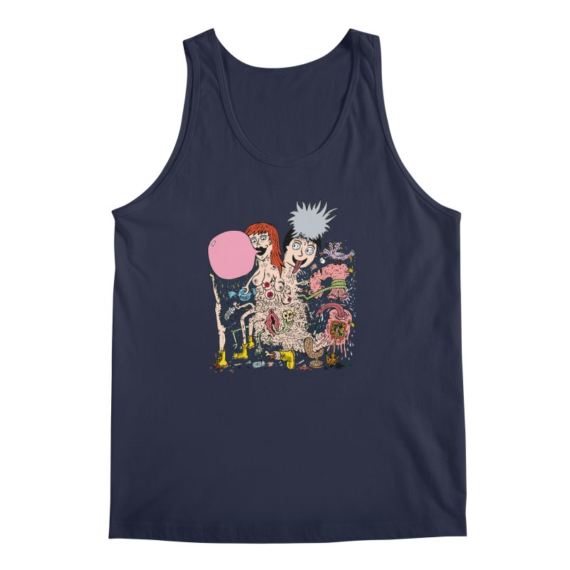 PopTones Men's Tank by Mike Diana T-Shirts! Horrible Ugly Heads Limited E