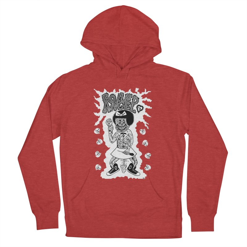 Boiled Angel Nancy  Women's Pullover Hoody by Mike Diana T-Shirts! Horrible Ugly Heads Limited E