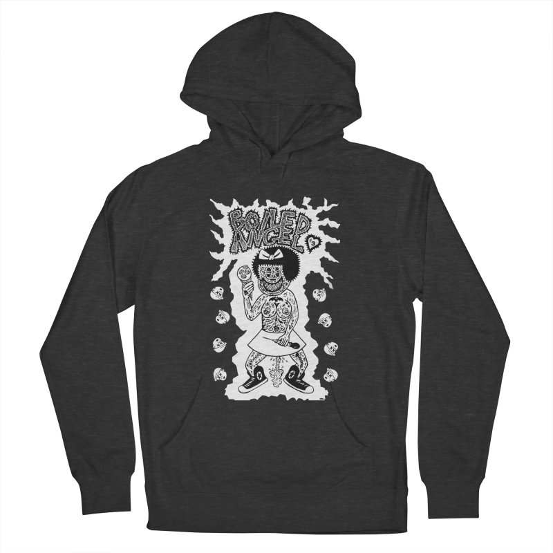 Boiled Angel Nancy  Men's Pullover Hoody by Mike Diana T-Shirts! Horrible Ugly Heads Limited E