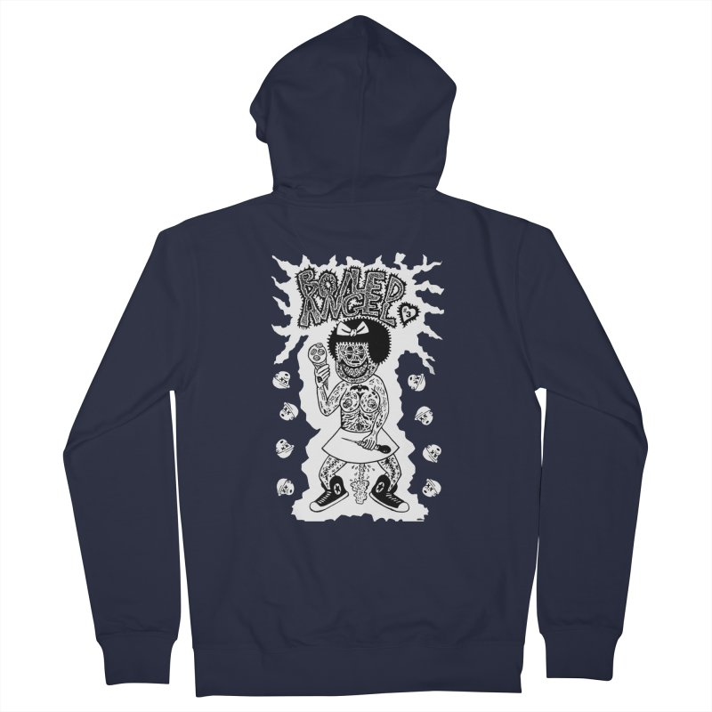 Boiled Angel Nancy  Women's Zip-Up Hoody by Mike Diana T-Shirts! Horrible Ugly Heads Limited E