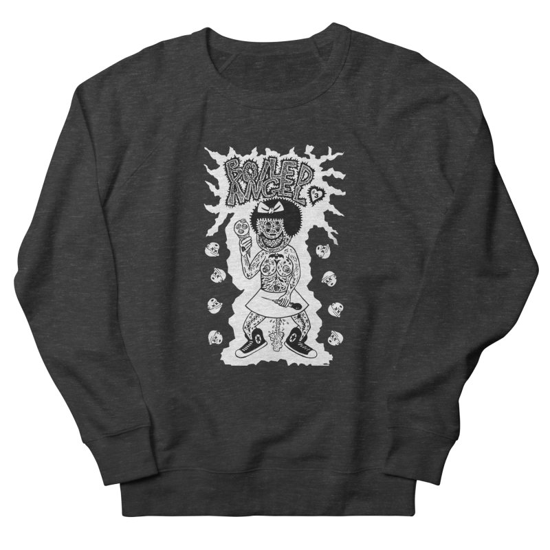 Boiled Angel Nancy  Women's Sweatshirt by Mike Diana T-Shirts! Horrible Ugly Heads Limited E