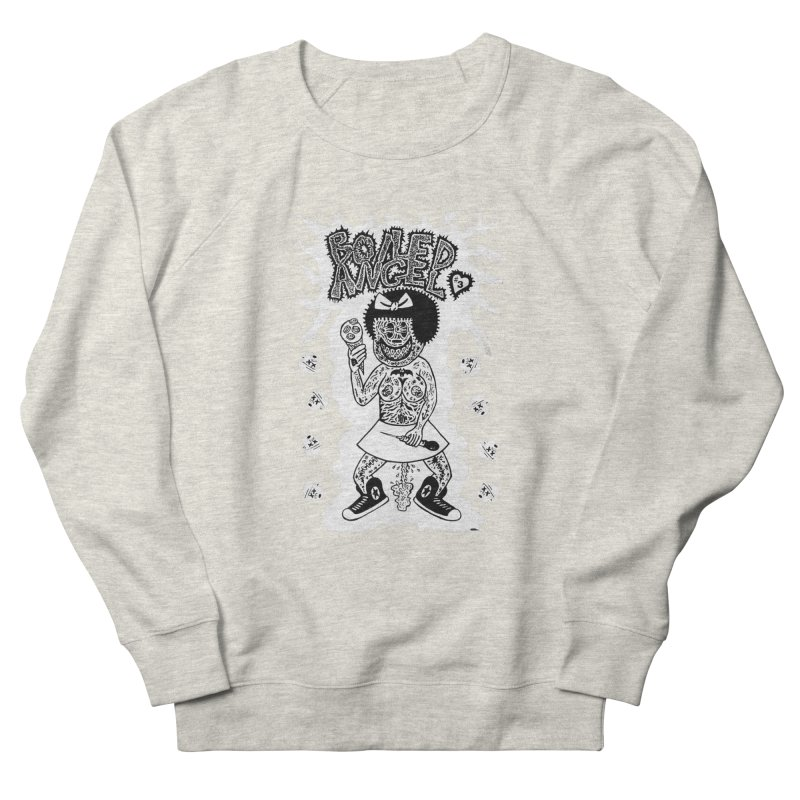 Boiled Angel Nancy  Men's Sweatshirt by Mike Diana T-Shirts! Horrible Ugly Heads Limited E