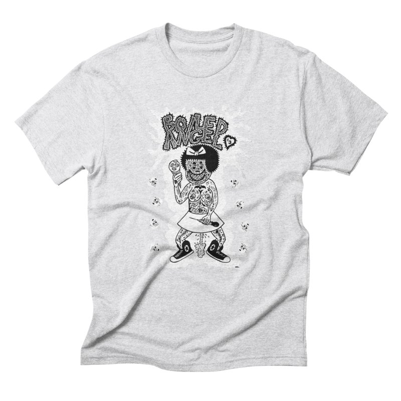 Boiled Angel Nancy  Men's Triblend T-shirt by Mike Diana T-Shirts! Horrible Ugly Heads Limited E