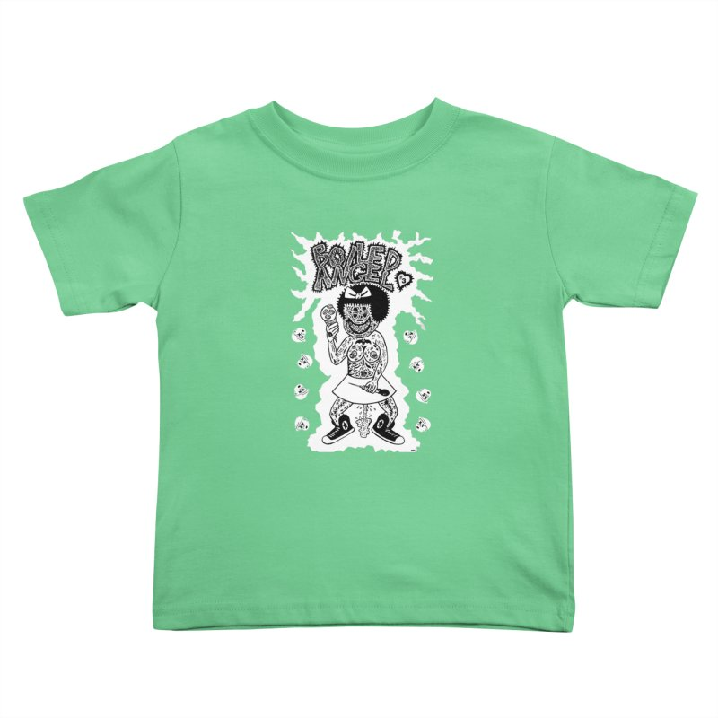 Boiled Angel Nancy  Kids Toddler T-Shirt by Mike Diana T-Shirts! Horrible Ugly Heads Limited E