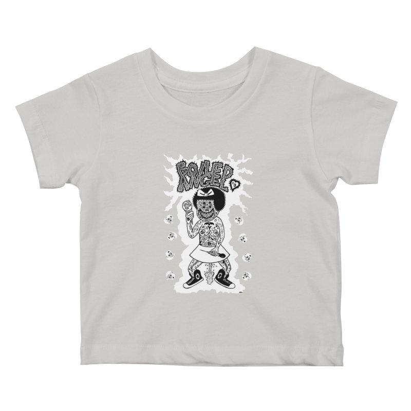 Boiled Angel Nancy  Kids Baby T-Shirt by Mike Diana T-Shirts! Horrible Ugly Heads Limited E