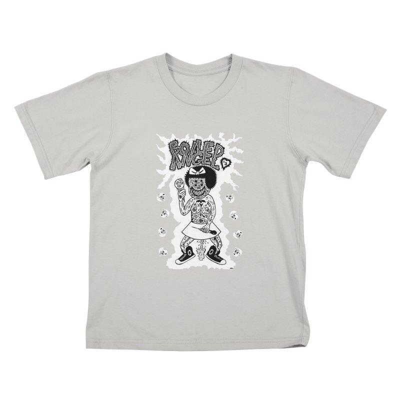 Boiled Angel Nancy  Kids T-shirt by Mike Diana T-Shirts! Horrible Ugly Heads Limited E