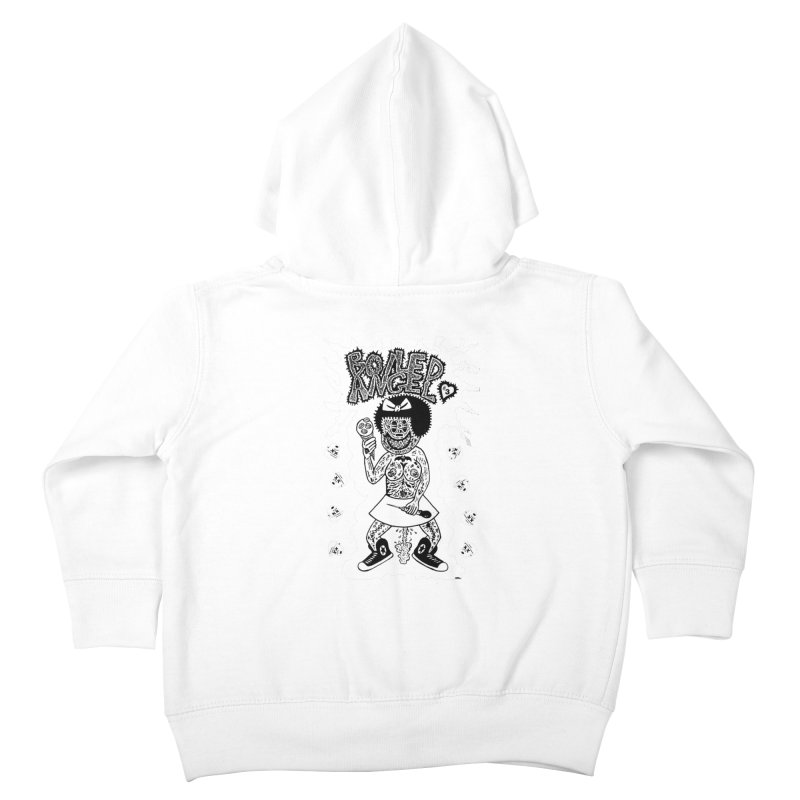 Boiled Angel Nancy  Kids Toddler Zip-Up Hoody by Mike Diana T-Shirts! Horrible Ugly Heads Limited E
