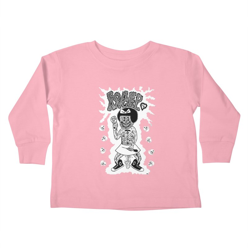 Boiled Angel Nancy  Kids Toddler Longsleeve T-Shirt by Mike Diana T-Shirts! Horrible Ugly Heads Limited E