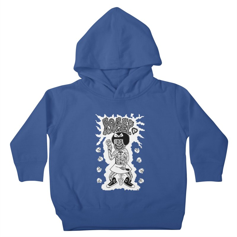 Boiled Angel Nancy  Kids Toddler Pullover Hoody by Mike Diana T-Shirts! Horrible Ugly Heads Limited E