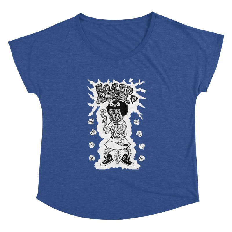 Boiled Angel Nancy  Women's Dolman by Mike Diana T-Shirts! Horrible Ugly Heads Limited E