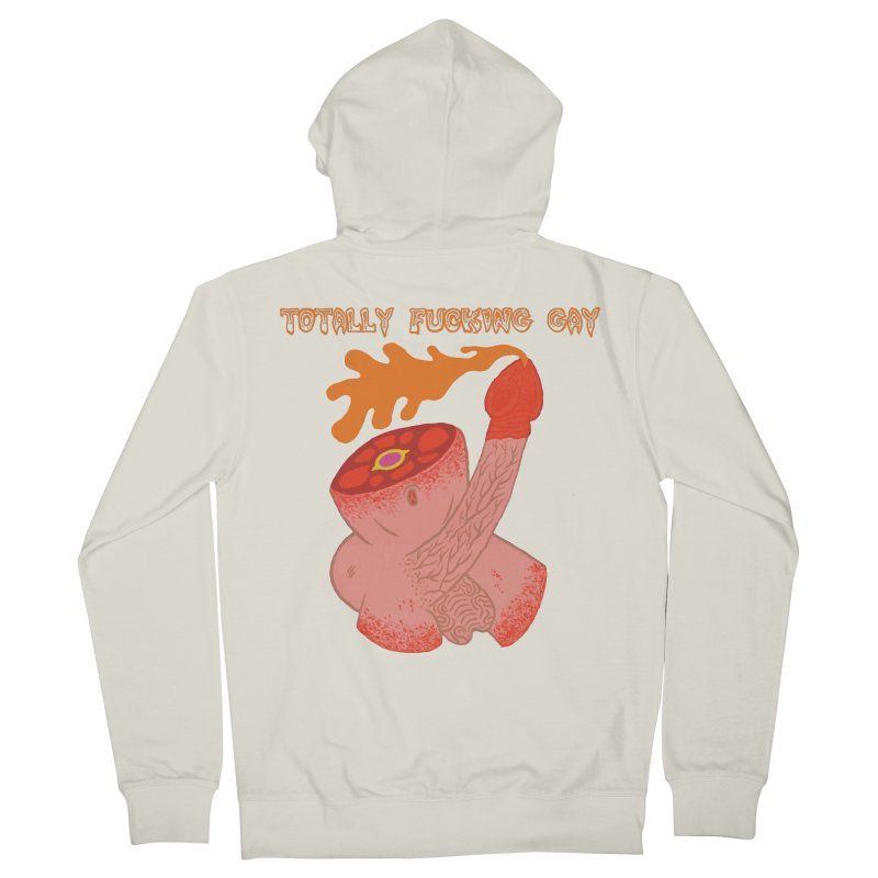 TFG Women's Zip-Up Hoody by Mike Diana T-Shirts! Horrible Ugly Heads Limited E