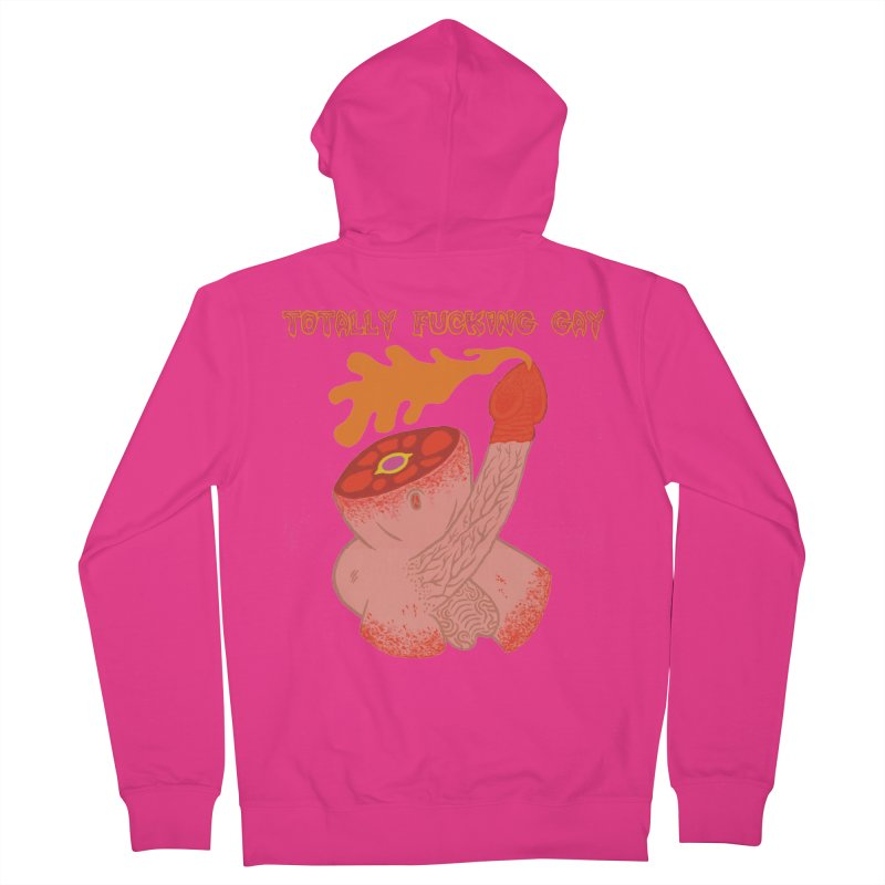 TFG Men's Zip-Up Hoody by Mike Diana T-Shirts! Horrible Ugly Heads Limited E