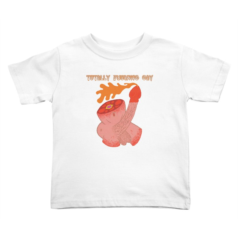 TFG Kids Toddler T-Shirt by Mike Diana T-Shirts! Horrible Ugly Heads Limited E