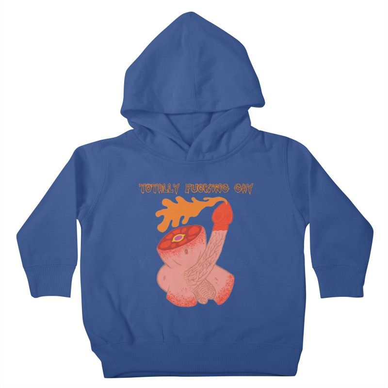 TFG Kids Toddler Pullover Hoody by Mike Diana T-Shirts! Horrible Ugly Heads Limited E