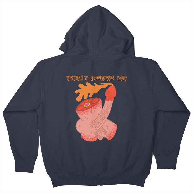 TFG Kids Zip-Up Hoody by Mike Diana T-Shirts! Horrible Ugly Heads Limited E