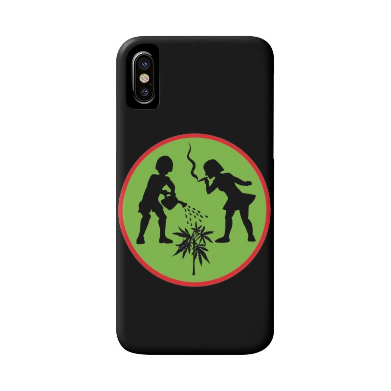 Mean Green Accessories Phone Case by Mike Diana T-Shirts! Horrible Ugly Heads Limited E