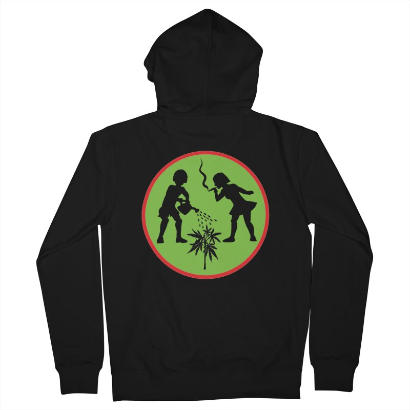 Mean Green Men's Zip-Up Hoody by Mike Diana T-Shirts! Horrible Ugly Heads Limited E