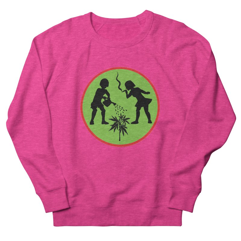 Mean Green Women's Sweatshirt by Mike Diana T-Shirts! Horrible Ugly Heads Limited E