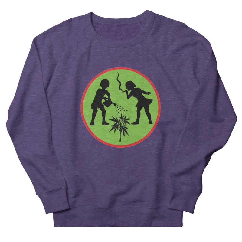 Mean Green Men's Sweatshirt by Mike Diana T-Shirts! Horrible Ugly Heads Limited E