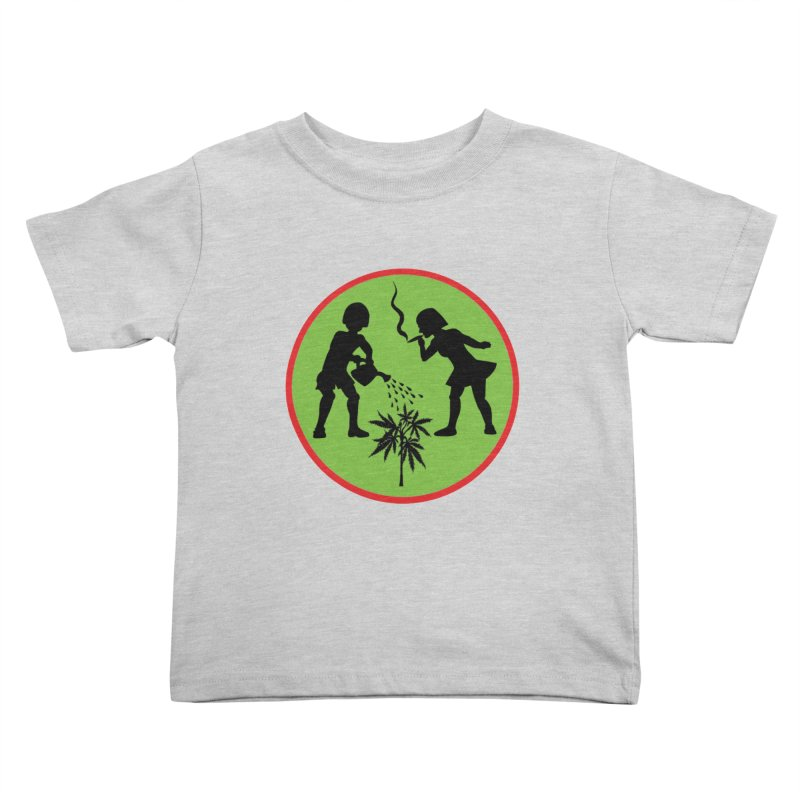 Mean Green Kids Toddler T-Shirt by Mike Diana T-Shirts Mugs and More!