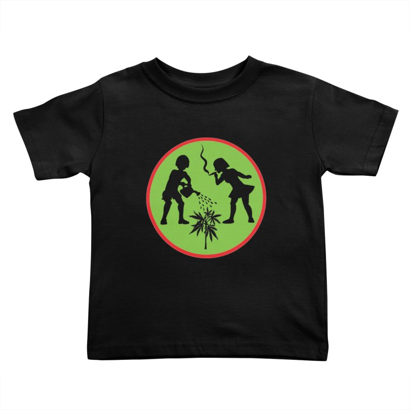 Mean Green Kids Toddler T-Shirt by Mike Diana T-Shirts! Horrible Ugly Heads Limited E