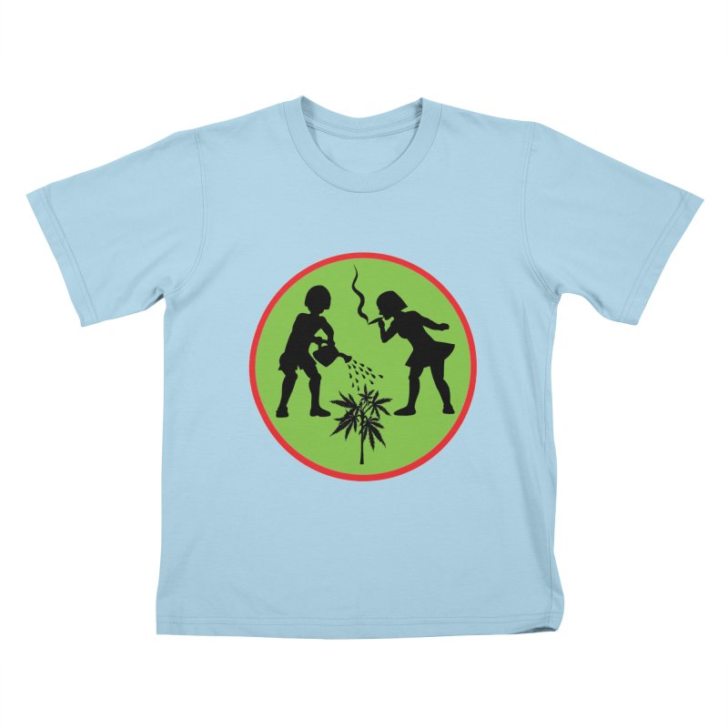 Mean Green Kids T-Shirt by Mike Diana T-Shirts! Horrible Ugly Heads Limited E