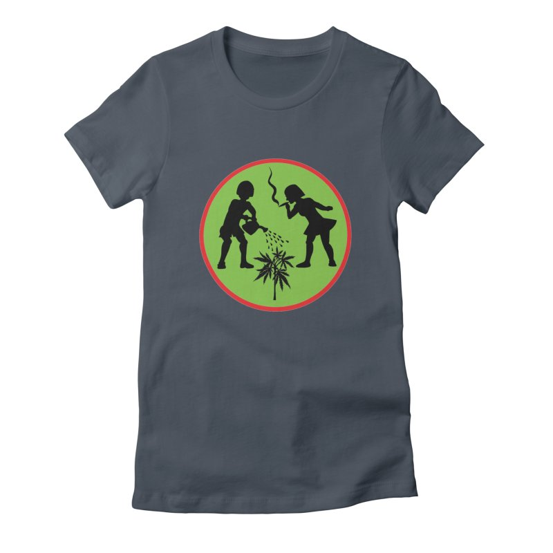 Mean Green Women's T-Shirt by Mike Diana T-Shirts! Horrible Ugly Heads Limited E