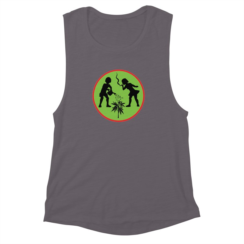 Mean Green Women's Muscle Tank by Mike Diana T-Shirts! Horrible Ugly Heads Limited E