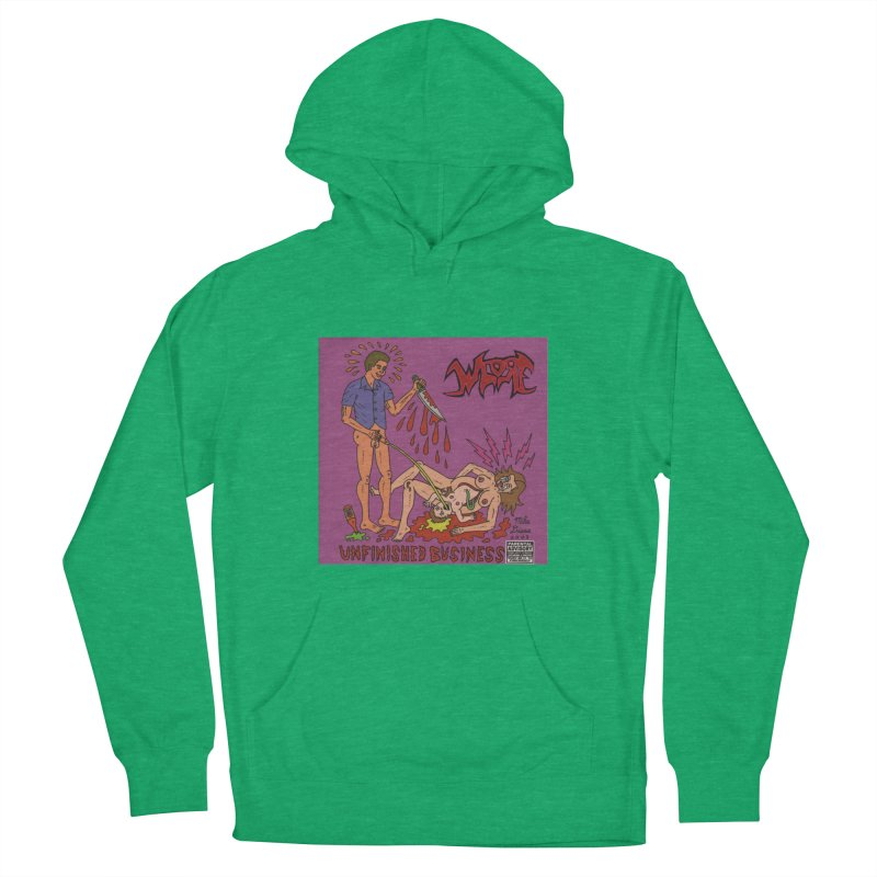 Whore Women's Pullover Hoody by Mike Diana T-Shirts! Horrible Ugly Heads Limited E