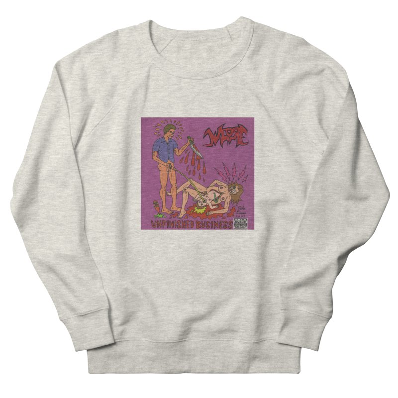 Whore Women's Sweatshirt by Mike Diana T-Shirts! Horrible Ugly Heads Limited E